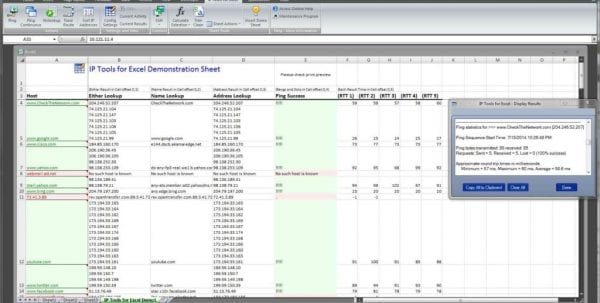 Ip Address Management Excel Spreadsheet