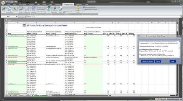 Ip Address Management Excel Spreadsheet