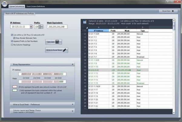 Ip Address Management Spreadsheet Template