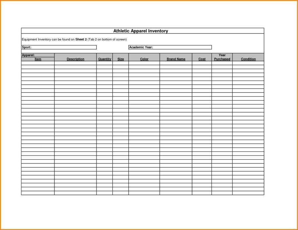 liquor inventory spreadsheet excel