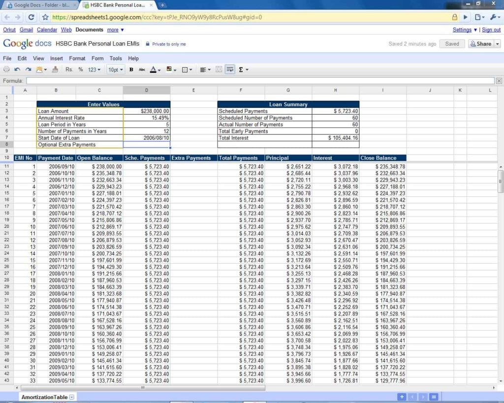 loan amortization schedule with balloon payment  u2014 excelxo com