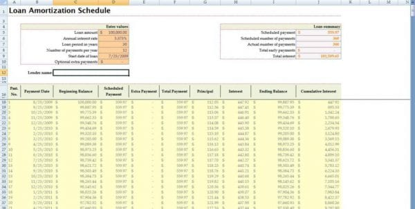 Loan Payoff Spreadsheet Excel Loan Payment Spreadsheet Template Loan Spreadsheet, Spreadsheet Templates for Business