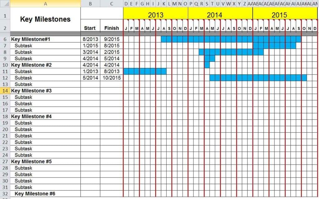 Microsoft Excel Balance Sheet Templates