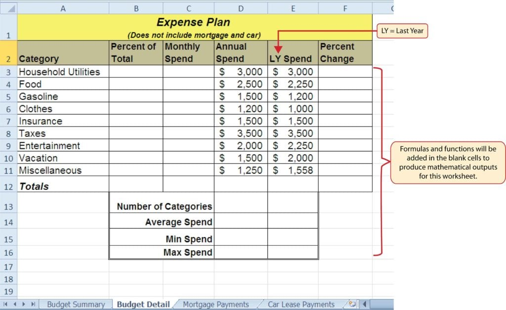 microsoft excel formulas list with examples pdf