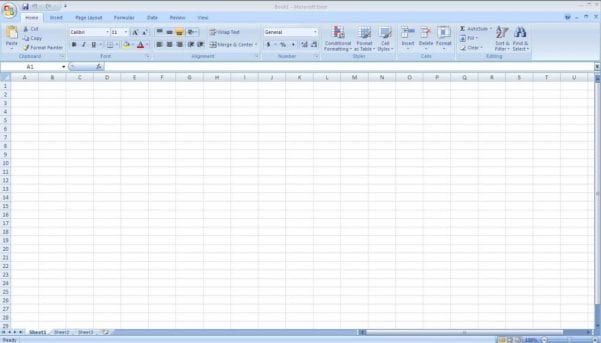 Microsoft Excel Spreadsheet Template