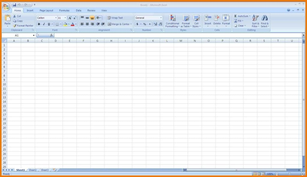 Microsoft Excel Templates Free Download 1