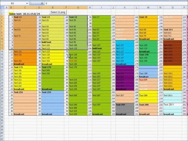 Microsoft Excel Templates Uk