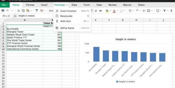 Microsoft Excel Workshops