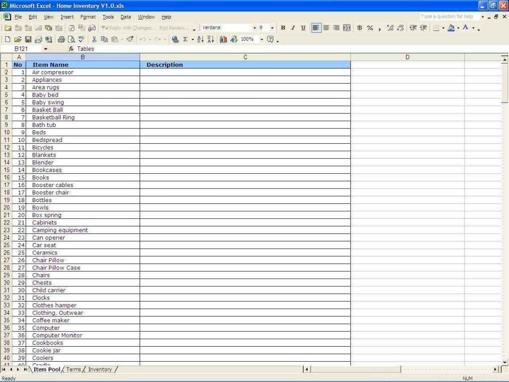 Microsoft Works Spreadsheet Templates