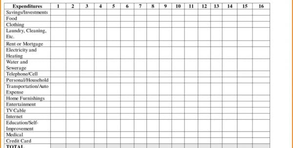 Monthly Income And Expense Spreadsheet For Rental Property Monthly Expenses Spreadsheet Template Expense Spreadsheet, Monthly Spreadsheet, Spreadsheet Templates for Business