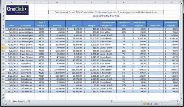 Online Spreadsheet Form