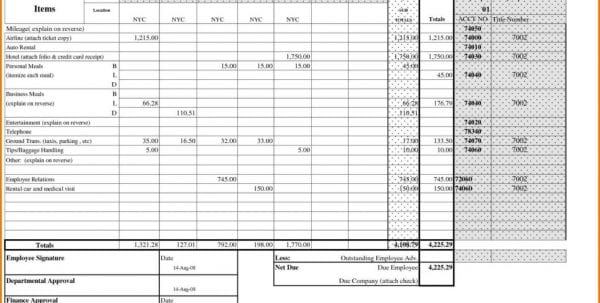 Payroll Spreadsheet Template Free