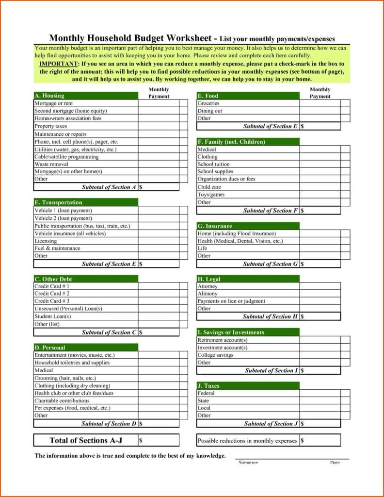 how to make a personal budget excel speadsheet