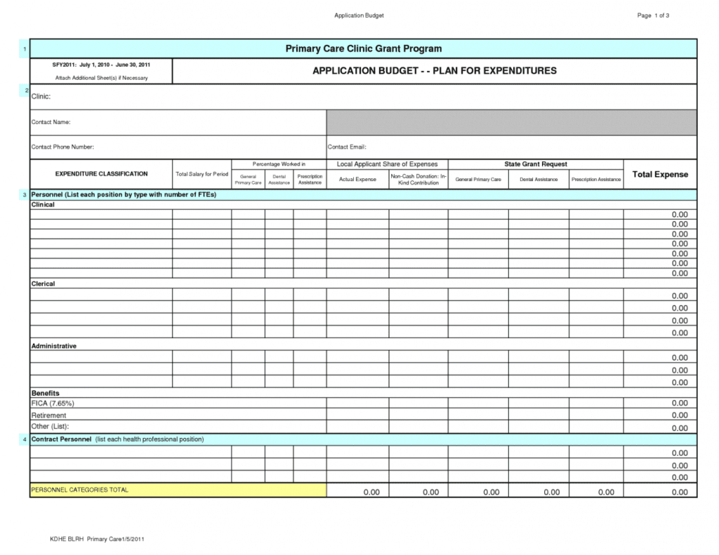 Personal Financial Statement Spreadsheet Template1