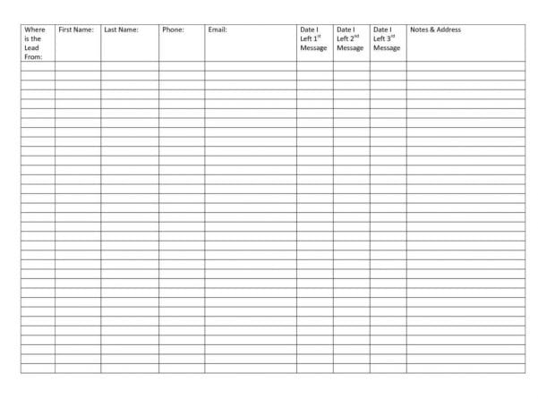 Printable Blank Excel Spreadsheet Templates1