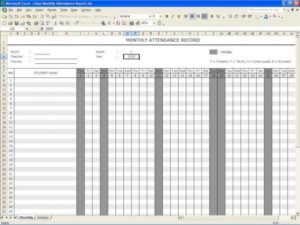 Printable Spreadsheet Templates Free