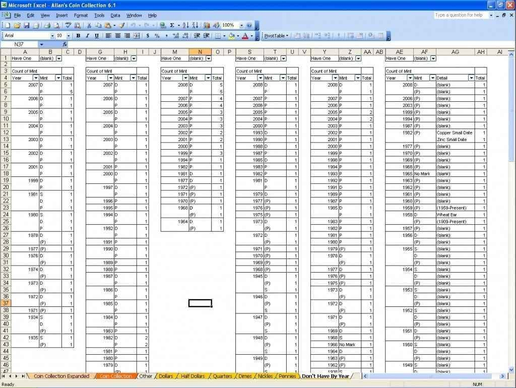 Productivity Spreadsheet Template Excel