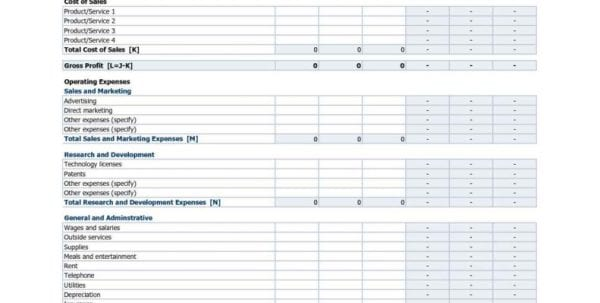 Profit Loss Spreadsheet Template Free Profit Loss Spreadsheet Templates Spreadsheet Templates for Business, Profit Loss Spreadsheet