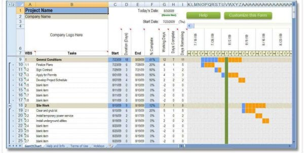 Project Cost Estimating Spreadsheet Templates For Excel