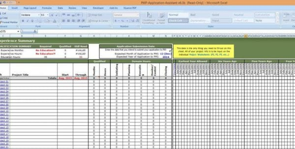 Project Management Templates Excel Free Download