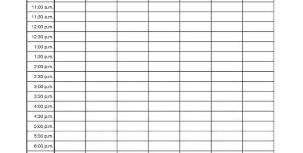Project Time Management Plan Template