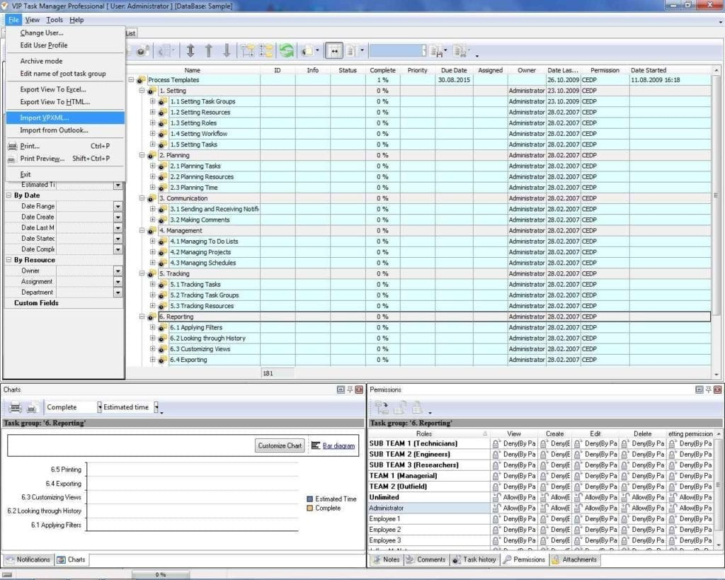 Project Tracking Spreadsheetls1