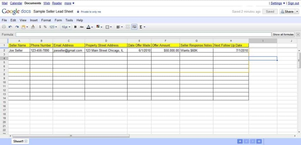 real estate spreadsheet templates spreadsheet templates