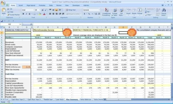 Sales Forecast Excel Templates1