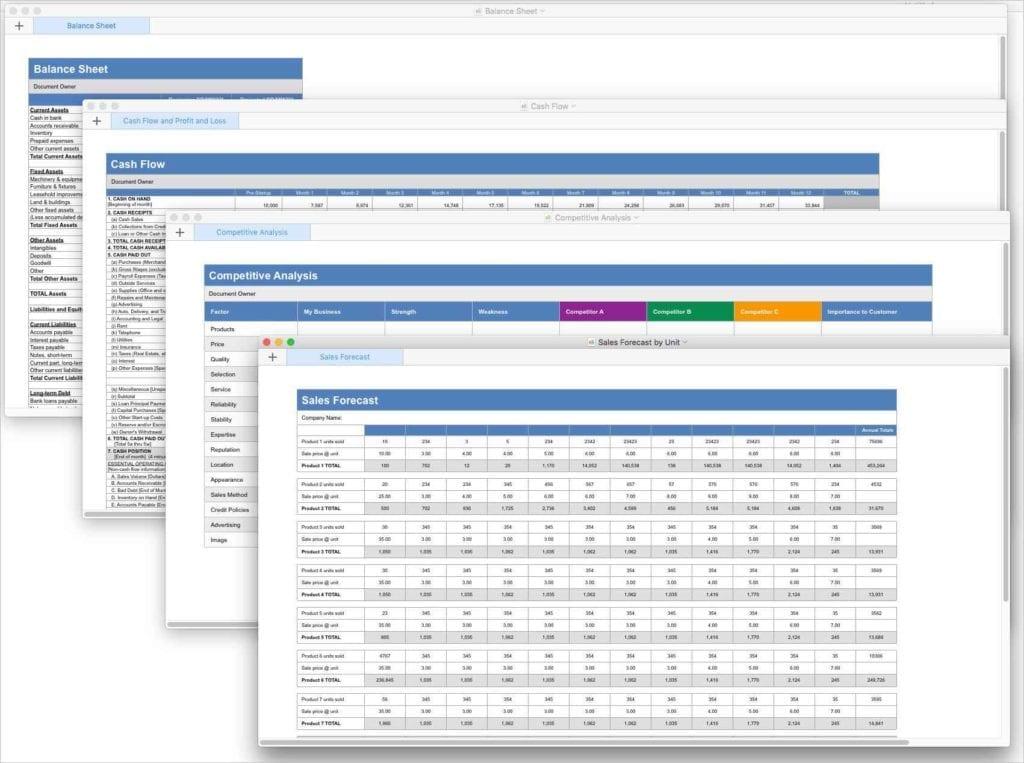 Sales Forecast Spreadsheet Example