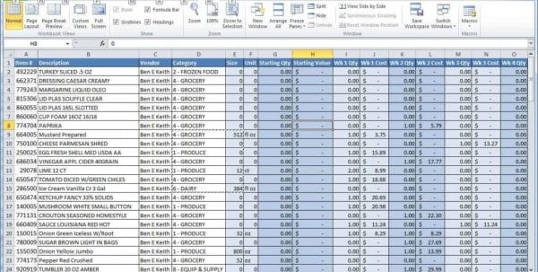 Sample Employee Database Excel Sample Of Excel Spreadsheet With Data Data Spreadsheet, Ms Excel Spreadsheet, Excel Spreadsheet Templates, Spreadsheet Templates for Business