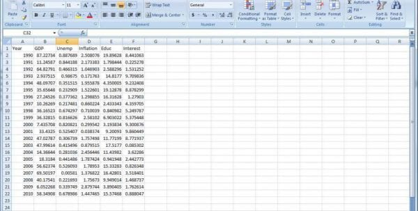 Sample Excel File With Data For Practice