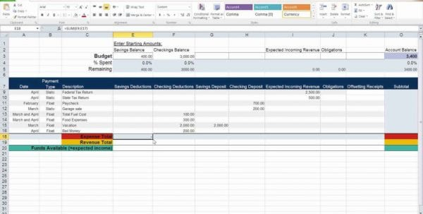 Simple Personal Budget Spreadsheet Personal Budget Spreadsheet Spreadsheet Templates for Business, Budget Spreadsheet