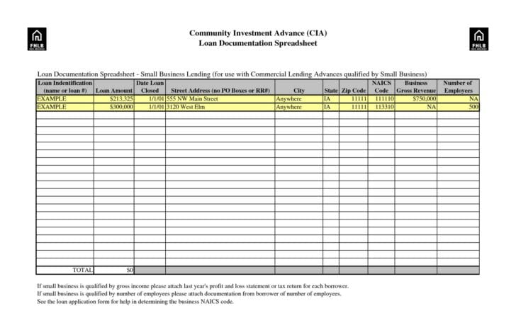 small business accounting spreadsheet 6