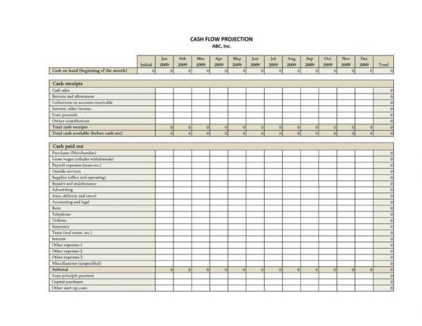 Small Business Accounting Spreadsheet Template1