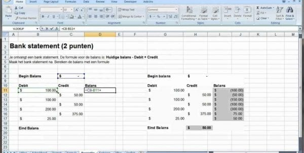 Small Business Accounting Spreadsheet Templates