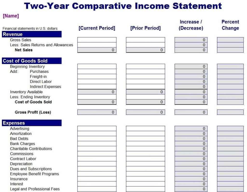 Spreadsheet For Business Expenses 1