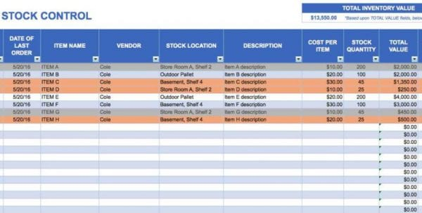 Spreadsheet For Small Business Bookkeeping Sample Spreadsheet For Small Business Business Spreadsheet, Spreadsheet Templates for Business