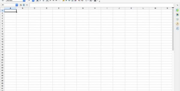 Spreadsheet Invoice Template