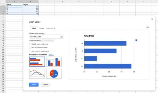 Spreadsheet Software Features