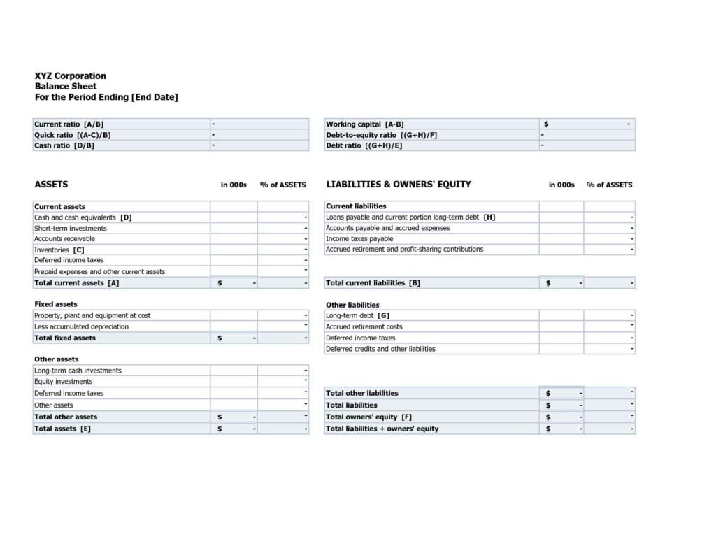 Spreadsheet Template For Business Expenses 2