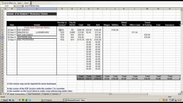 Spreadsheet To Keep Track Of Expenses