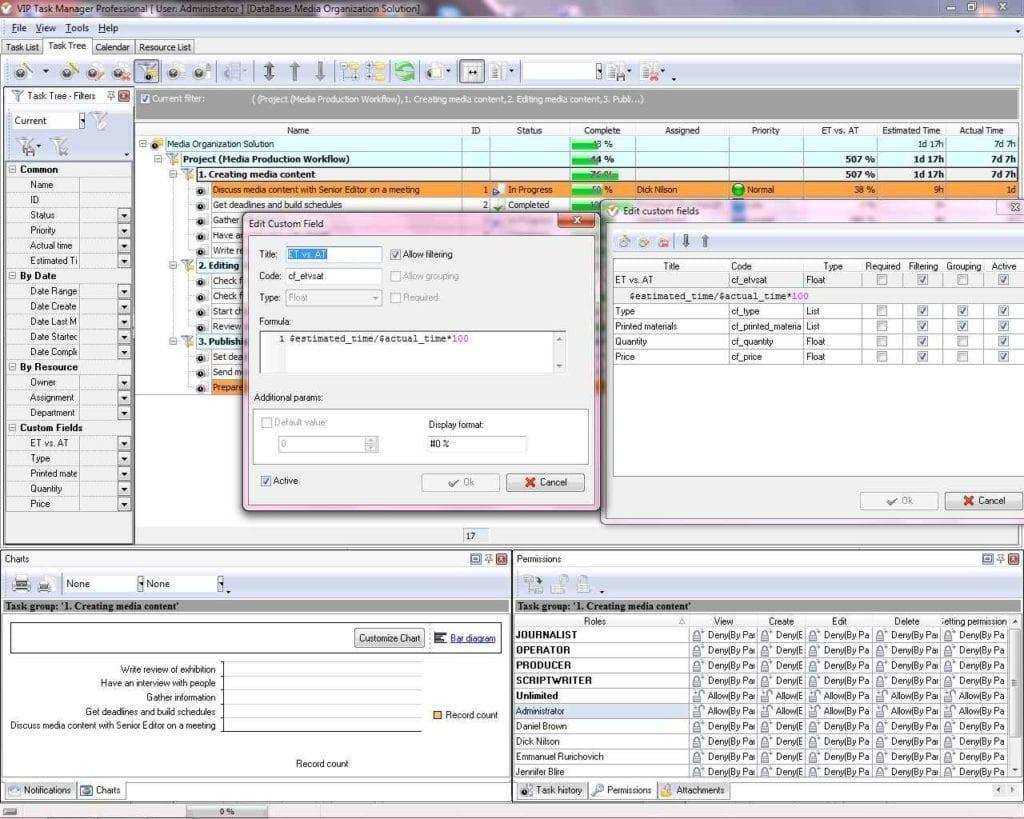 Task Management Spreadsheet