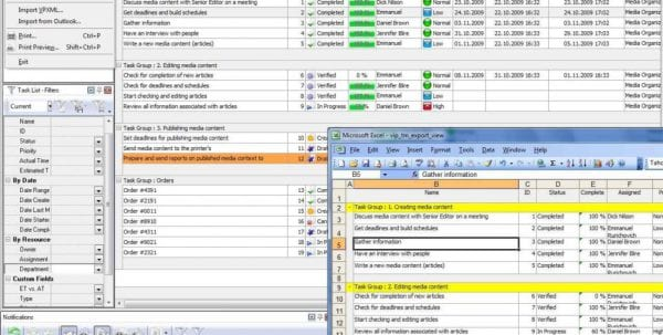 Task Manager Spreadsheet Template