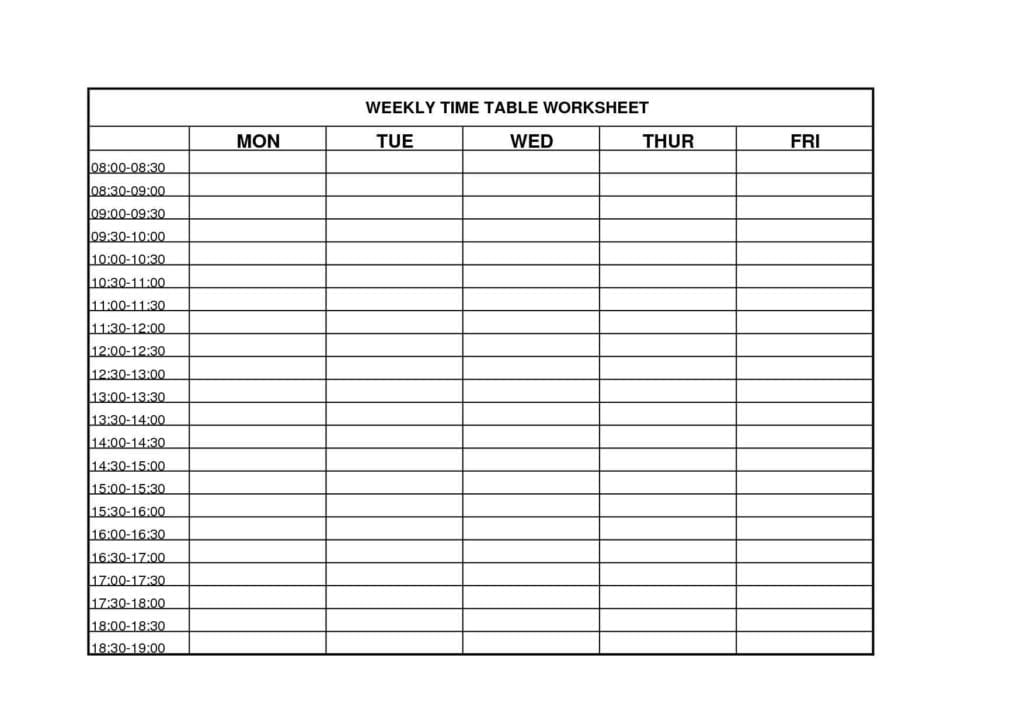 Time management sheets template time management for Nursing time management template