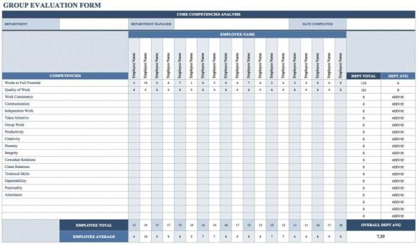 Training Tracker Spreadsheet
