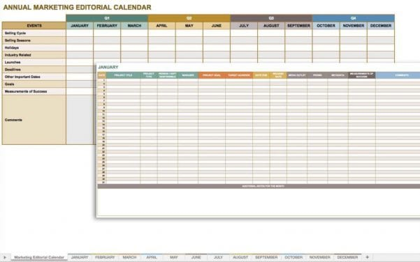 Training Tracker Template Excel