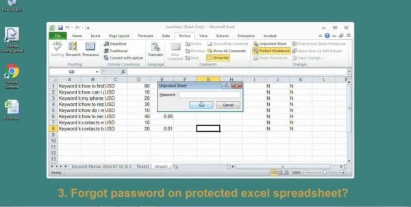Unlock Excel File Locked For Reading Online