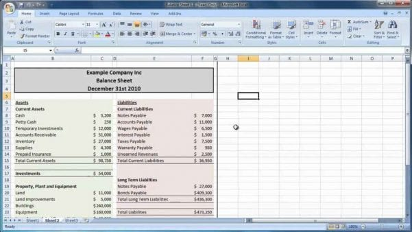 Spreadsheet Accounting