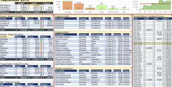 Wedding Budget Spreadsheet Excel Template