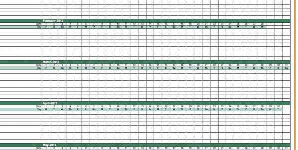 Weekly Payroll Spreadsheet
